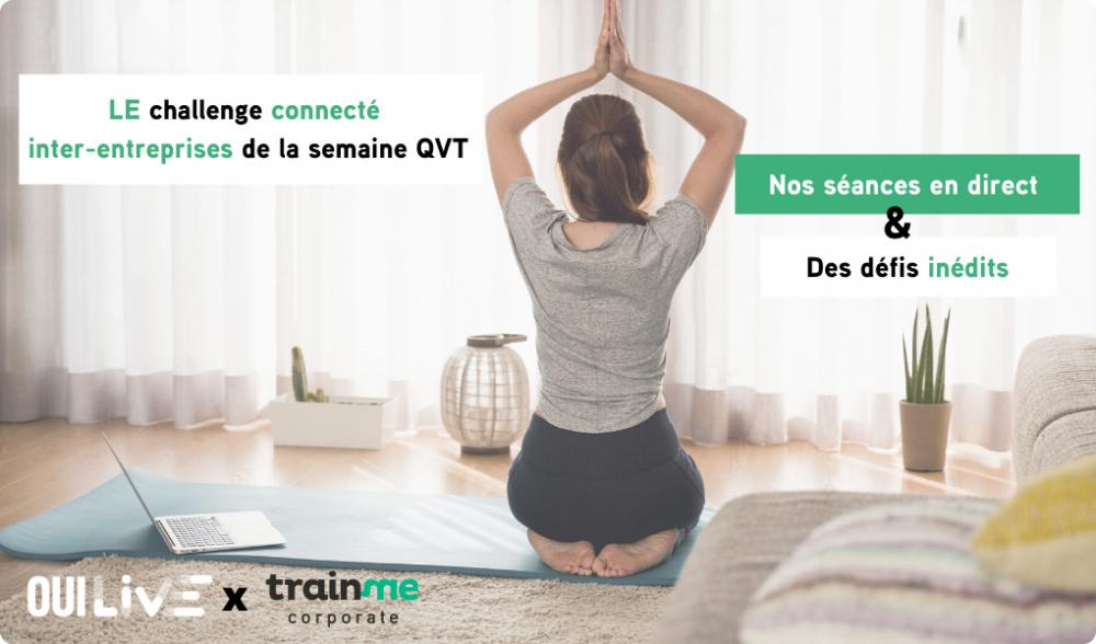 Découvrez LE challenge connecté inter-entreprises de la semaine QVT !