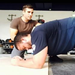 Coach sportif de remise en forme | Romain