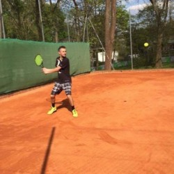 Professeur de tennis | Vincent