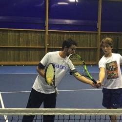 Professeur de tennis | Simon