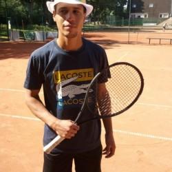 Professeur de tennis | Clarence